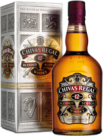 Chivas Regal Scotch 12 Year (Liter Bottle) 1.00l